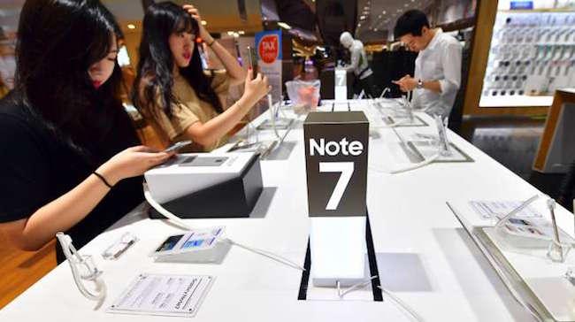 Penyebab Samsung Galaxy Note7 Meledak