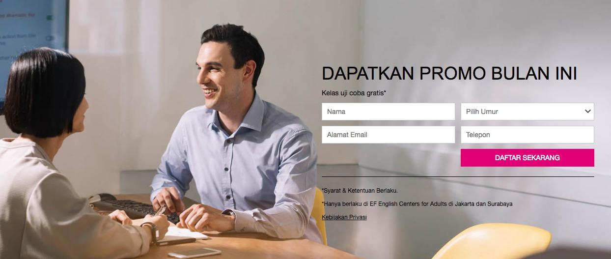 Kursus Bahasa Inggris di Kuningan City Jakarta Selatan EF Indonesia