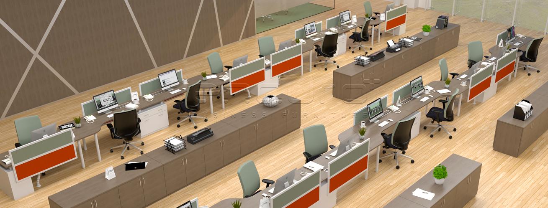 Jual Perabot Kantor Modern System Office Furniture